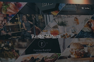 to develop website for the restaurant chain       | Website for the restaurant chain Restau-Rateur