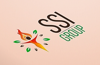 to develop logo for the biofuel producing and retail company. | SSI Group logo