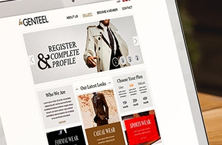 development of web page for image making company. | beGenteel website