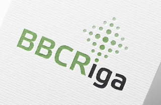 BBCRiga company logo and corporate style elements development. | Law comapny BBCRiga logo