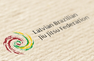 development of logo and corporate style for Latvian federation of Brazilian jiu-jitsu  | Logo for Latvian federation of Brazilian jiu-jitsu