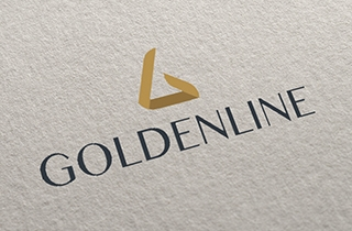 to develop a logo for the group of parent holding company and its subsidiaries. | Goldenline company logo