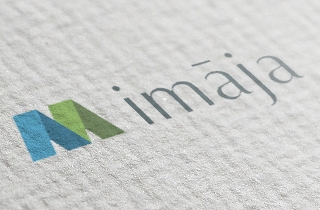 development of logo and corporate style for company that deals with utility payments. | imāja logo