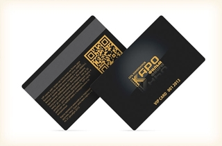 development of client card design for Karo Film company. | Plastic cards Karo Film