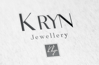 development of logo for jewellery brand | Jewellery brand K Ryn logo