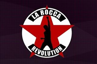 development of the logo for the most popular night club in Latvia. | La Rocca-Revolution night club logo