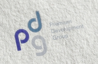 development of logo and corporate style for real estate company. | Style and logo for the PDG company