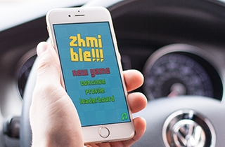 to develop design for iOS and Android mobile application. | Mobile game Zhmible design