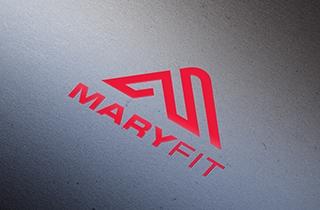 разработать логотип и брендбук для компании, продающий спортивное питание в интернете | Sporta uztura interneta veikala Maryfit  logotips