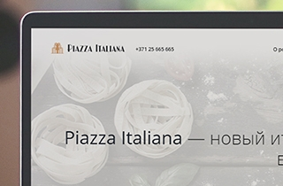 to develop web page for Piazza Italiana restaurant | Web page for Piazza Italiana