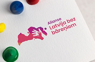 разработать логотип для благотворительной организации, которая работает с детьми-сиротами в Латвии | Labdarības organizācijas logo