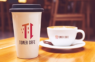to develop logo and layout for the cafe | Logo and outdoor sign for Tower Cafe