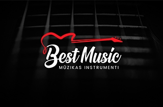to develop logo and corporate style, business cards and a brand book for the largest distributor of musical instruments and equipment for show business in the post-Soviet territory | Logo and corporate style for music instrument store Best Music